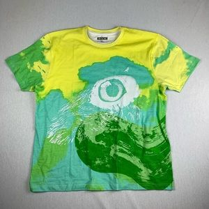Staple Pigeon All Over Print Art Yellow T Shirt XL